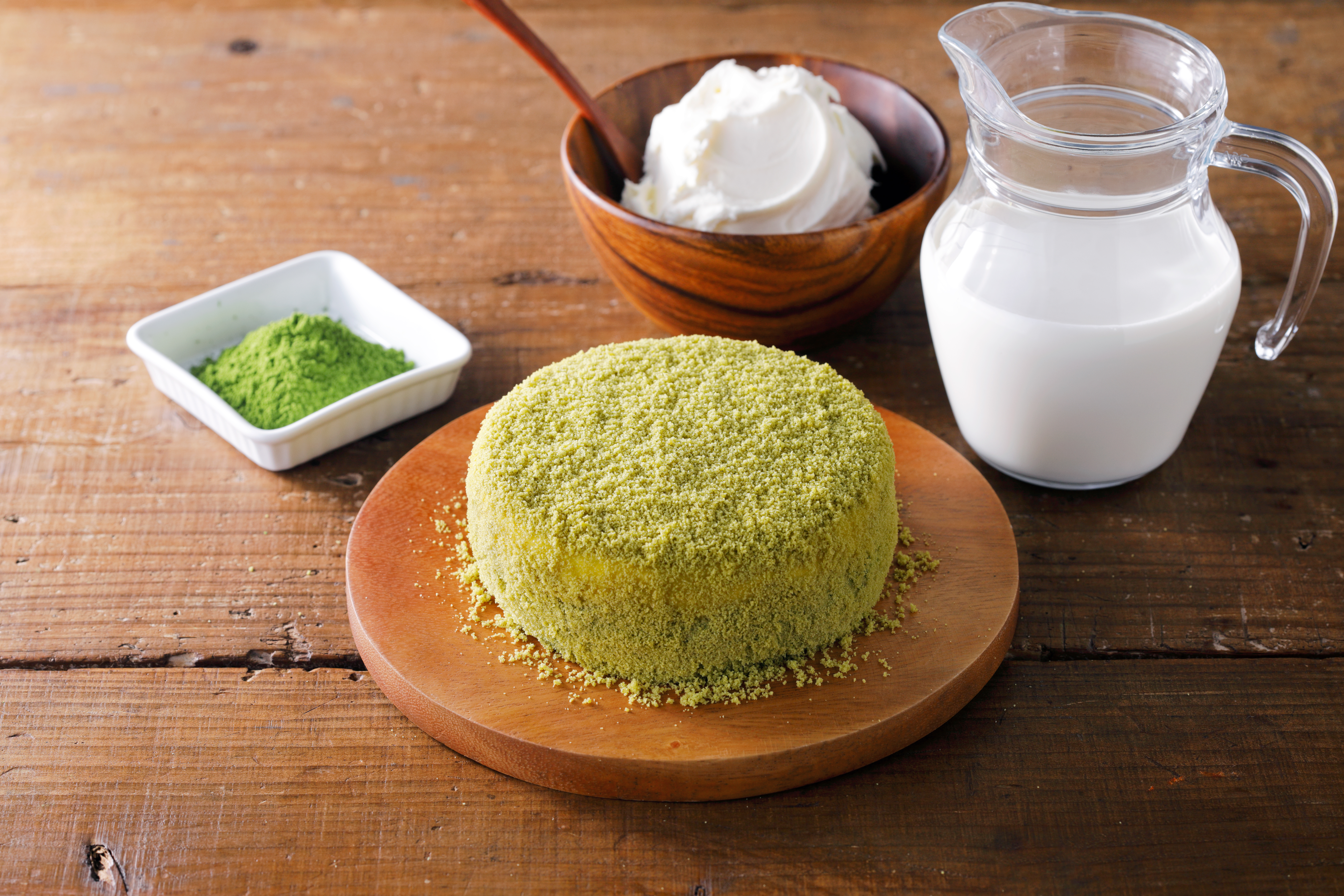 matcha letao fromage cheesecake