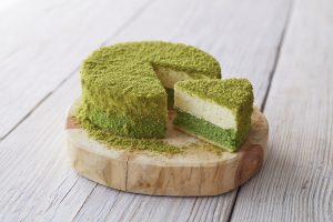 matcha fromage cheesecake