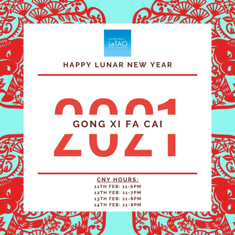 Happy Niu Year 2021! CNY Operating Hours at ION Orchard B1-K7
